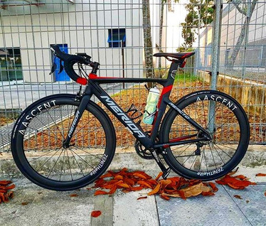 Zenith Elite carbon wheels!__Here's a p