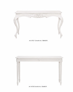 consolle shabby chic