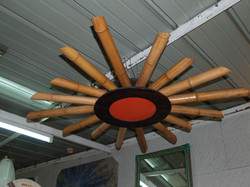 Lampadario sole