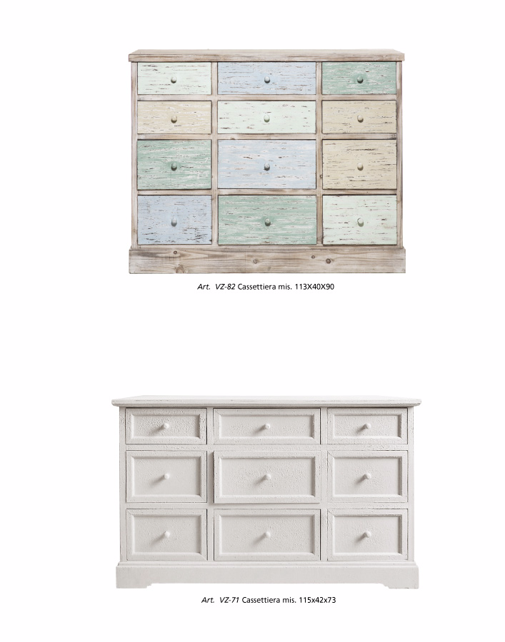 cassettiere shabby