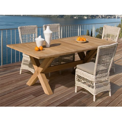 Tavolo e sedie Teak