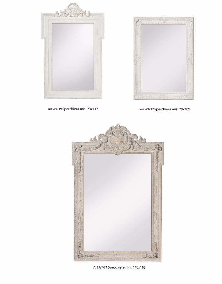 specchi shabby chic