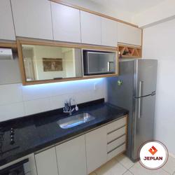 móveis planejados - cozinha com acabamento superior