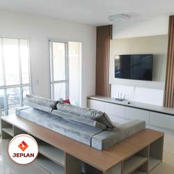 móveis planejados - sala de televisão