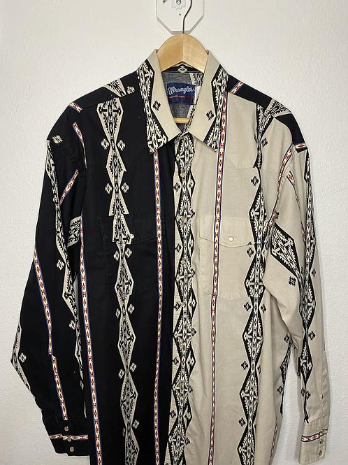 Wrangler- Western Shirts- XL
