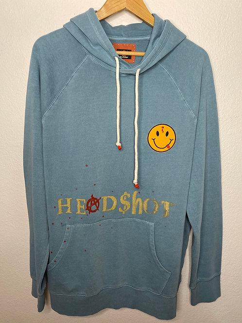 Gold Embossed Headshot Logo Hoodie
