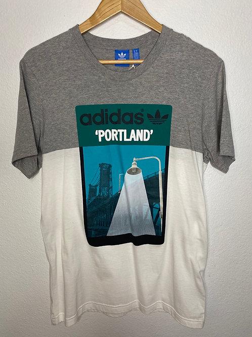 Adidas- Artist Series Tee- 'Portland' -Lennox Rees- Medium