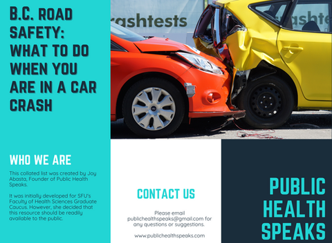 BC Road Safety: What to Do When You are in a Car Collision