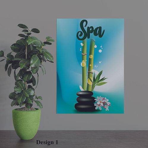 Massage Spa Sign, Spa Sign 40 pt Spa Display Board