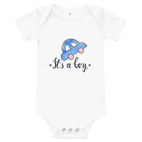 Personalized Baby One Piece - Bella + Canvas 100B