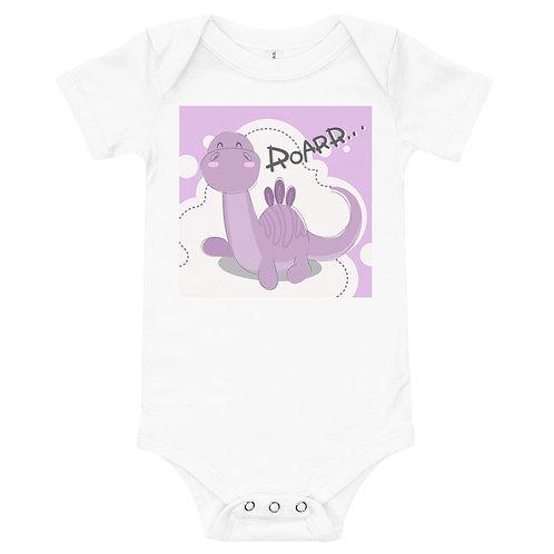Roar Dino  Full Color Printing Baby Bodysuit