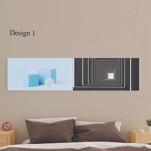 2 Pcs. Minimalist Large Bedroom Poster