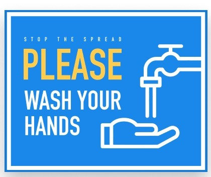 PLEASE WASH YOUR HANDS WASH YOUR HANDS HEALTH AND HYGIENE DECALS