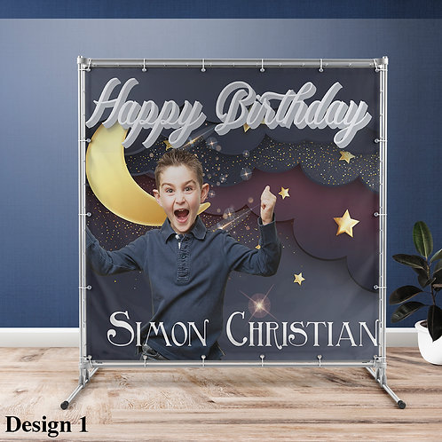Birthday Boy Vinyl Banner