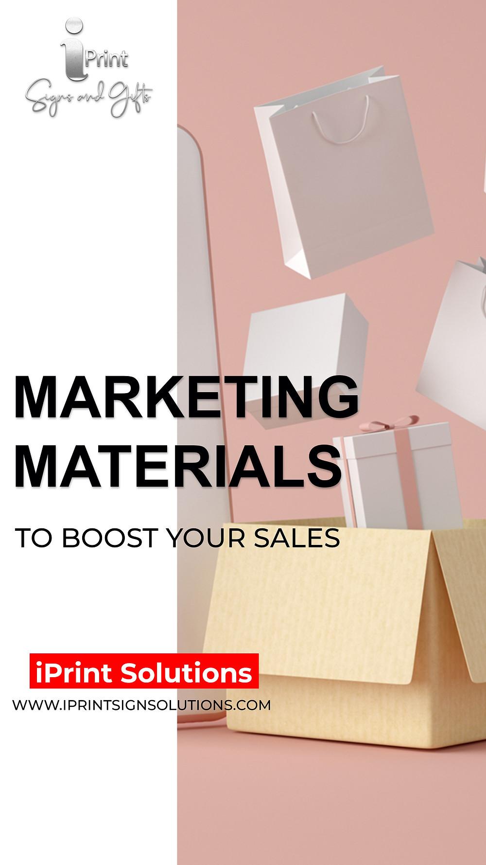 Custom Design Marketing Materials