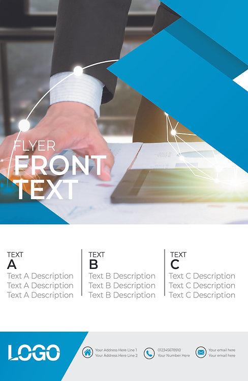 25-1000 High Gloss Business Flyer, 8.5X11 Graphic Technology