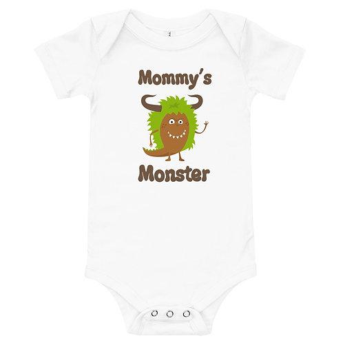 Mommy's Monster Full Color Printing Baby Bodysuit