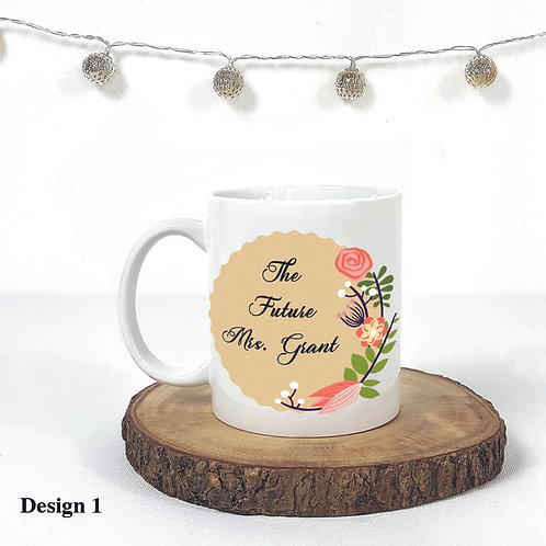 Personalized Mugs for Couples,The Future Mrs