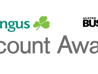 Nominated in two categories in the Aer Lingus Viscount Awards 2017