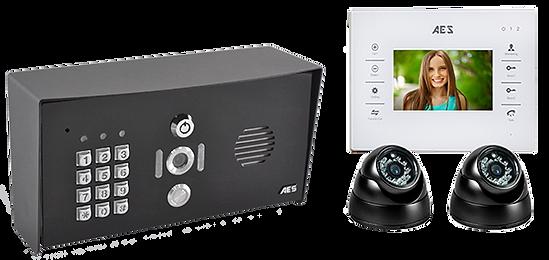 Video intercom with CCTV