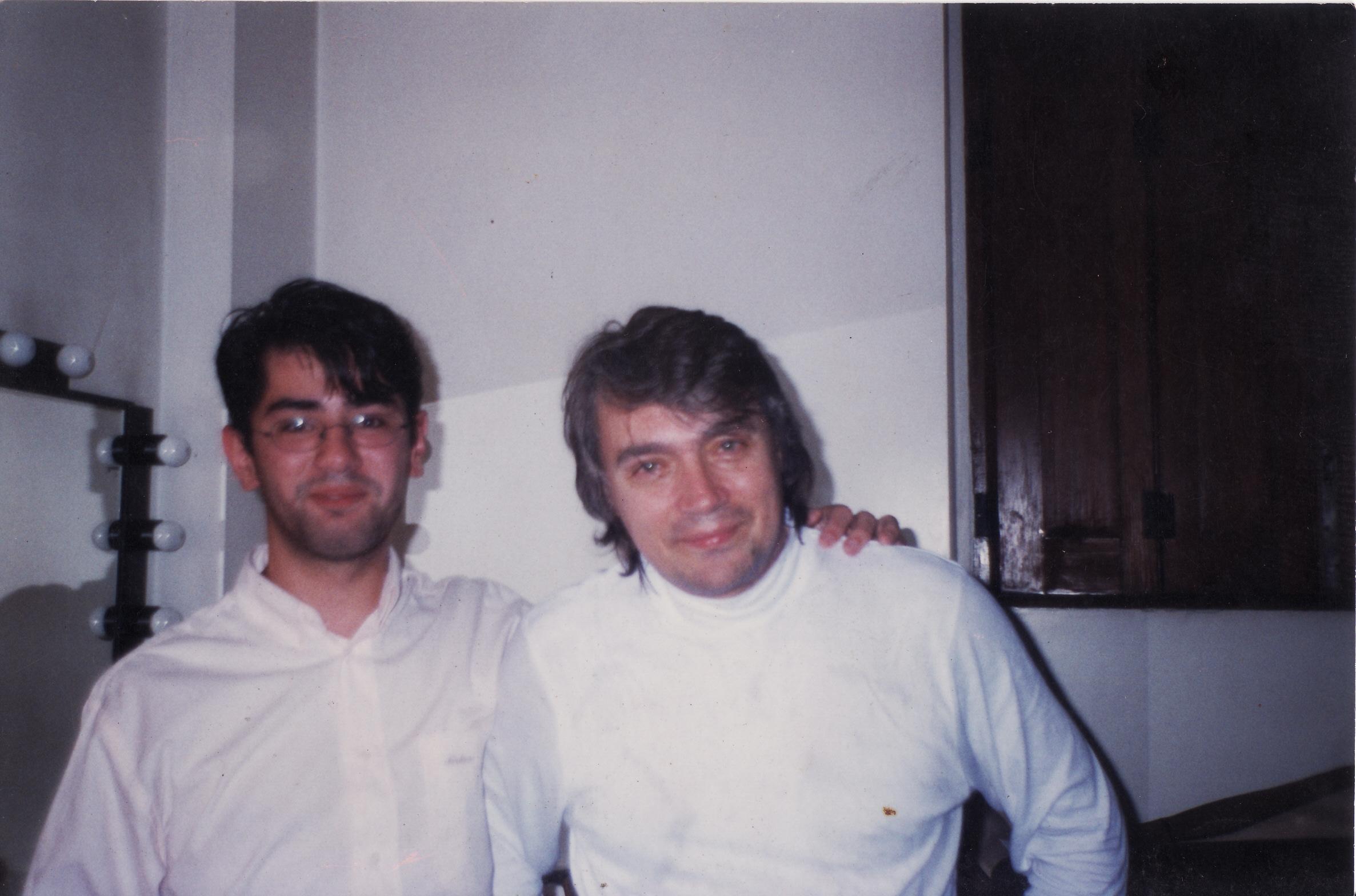 With Maestro Boris Belkin