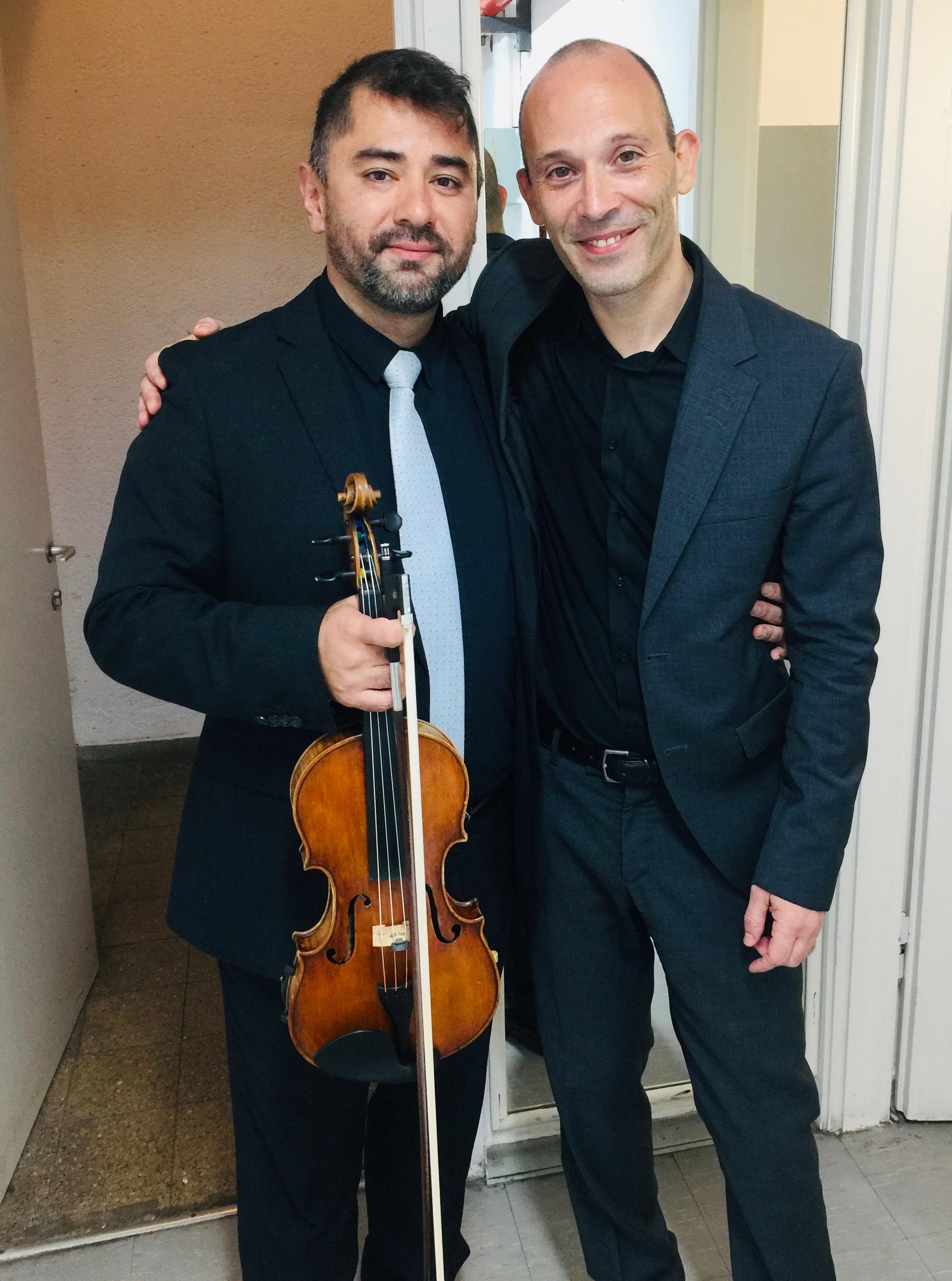 With Ariel Zuckermann