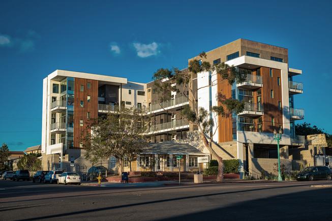 Exotic Gardens multi-unit project. San Diego, CA