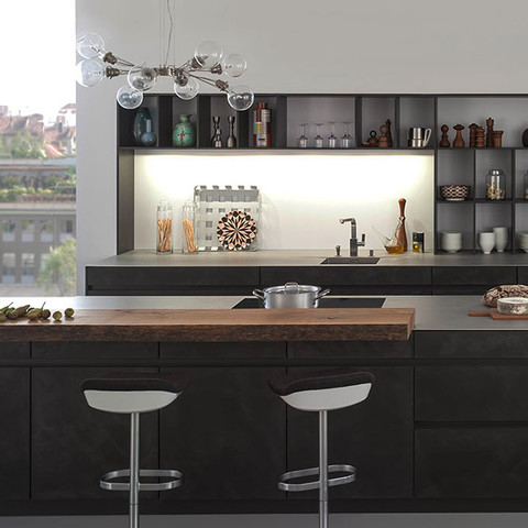 Modern and Traditional Style LEICHT Cabinetry