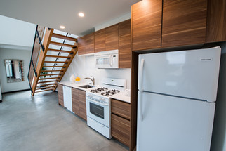 Space saving design and LEICHT's versatility enabled us to The challenge was to get all the appliances into a small, single elevation kitchen area.