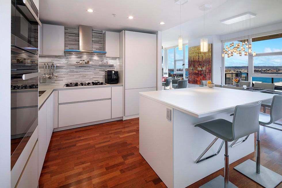 High Rise Living Kitchen Remodel