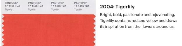 Orange Pantone Color Palette