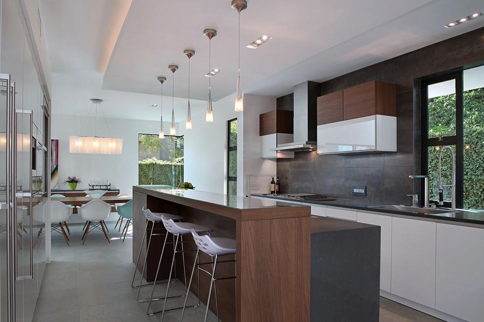 European Modern Kitchen Remodel
