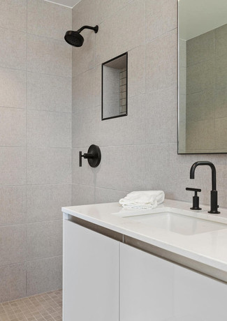 LEICHT single residence kitchen bath remodel