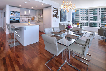 San Diego High-Rise Residential Kitchen Model