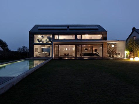Belgian residence designed by architect Patrick Meisch