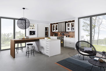 Timeless traditional styles for a modern kitchen.