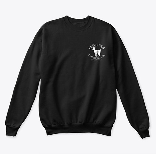 Goats + Yoga Crewneck Sweatshirt