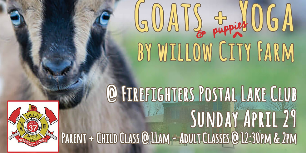 Piglets, Puppies, Pinot + Pilates @ the Firefighters  Club