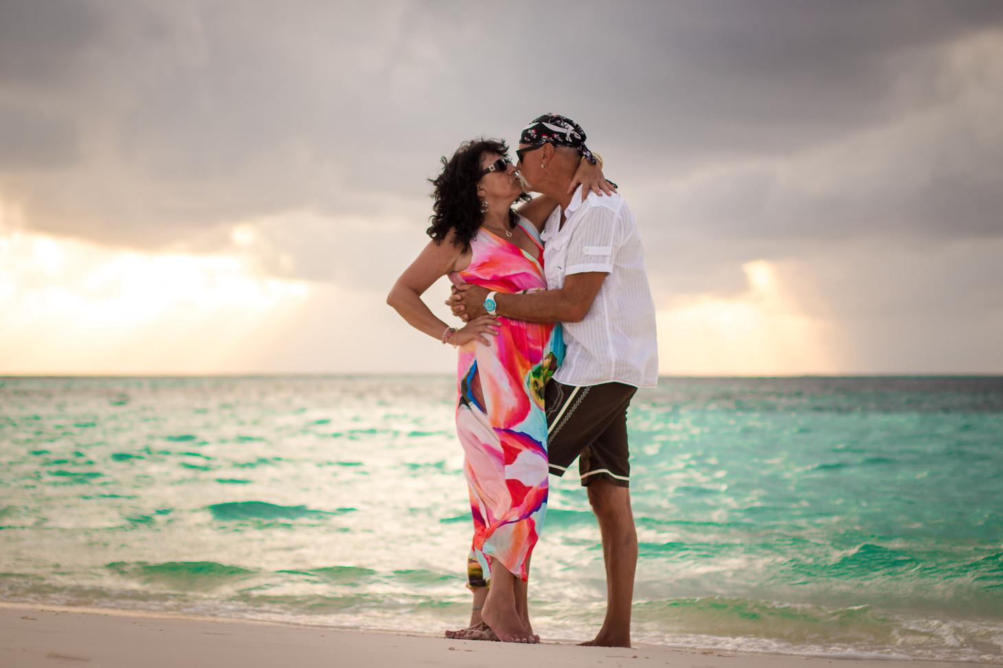 Paarshooting auf den Malediven