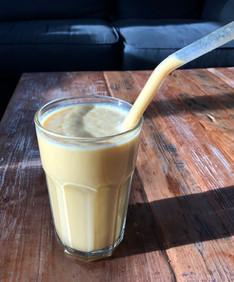 Golden-smoothie (after workout) smoothie! (Vegan/Glutenvrij/Exorfinevrij)