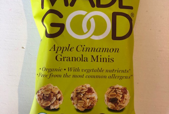 Made Good Granola mini's appel kaneel bio (24 gr)