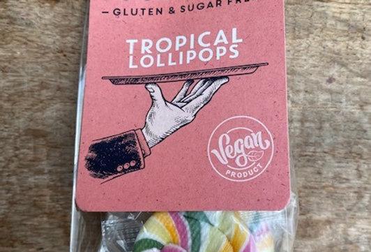 Tropical twister lolly's Food 2 smile (5 stuks)