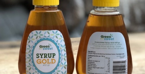 Green sweet syrup gold 450 gr