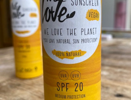We love the planet sunscreen-stick factor 20