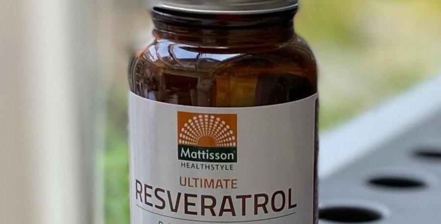 Ultimate Resveratrol Mattison (60 capsules)