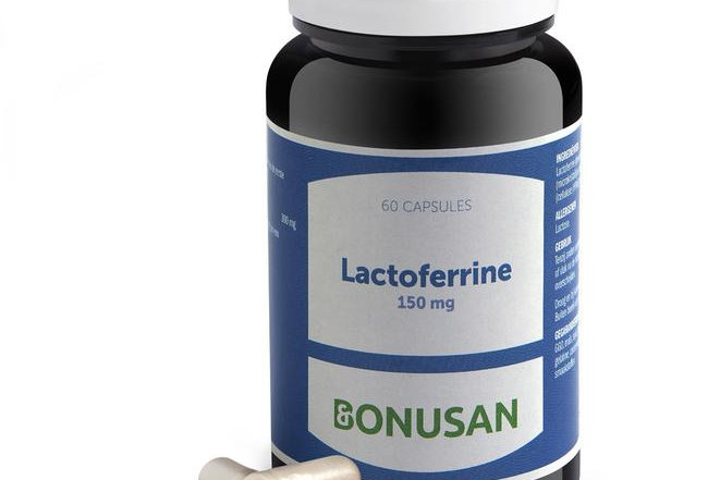 Lactoferrine 150 mg 60 capsules Bonusan