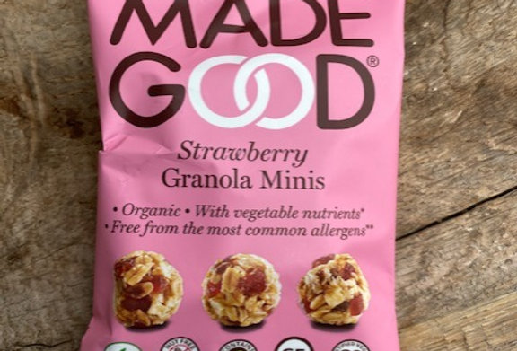 Made Good Granola mini's aardbei 24 gr