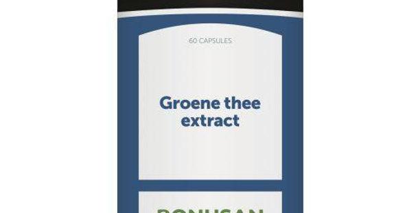 Groene thee extract 60 capsules Bonusan
