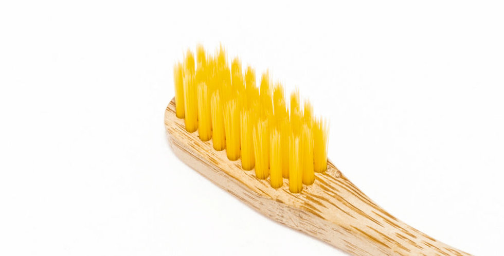 Tandenborstel geel volw
