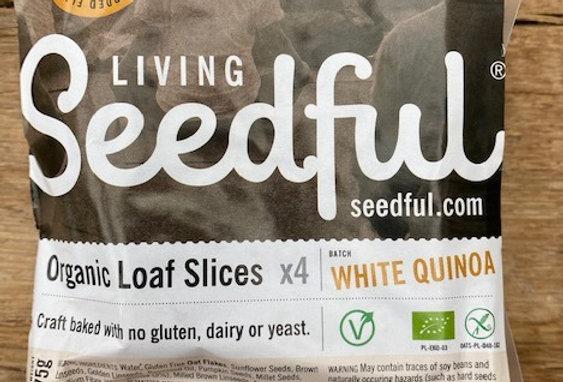 Living Seedful Biologische Seedful Bread Slices with White Quinoa (275 Gr)